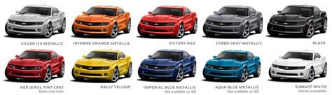 2010 camaro paint codes paint codes for 2015 chevy camaros autos post