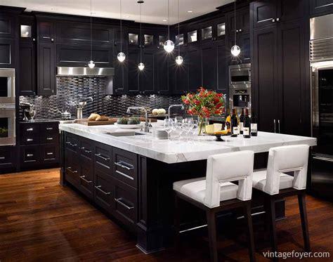 inspirational ideas creating black kitchen