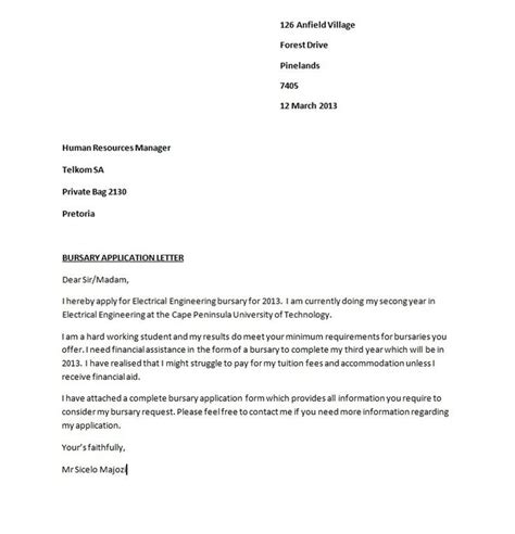 Business Letter When Applying For A business letter exle for applying for a theveliger