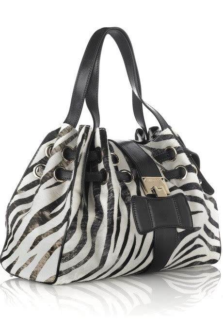 Jimmy Choo Ramona Zebra Bag by Jimmy Choo Zebra Bag Ramona