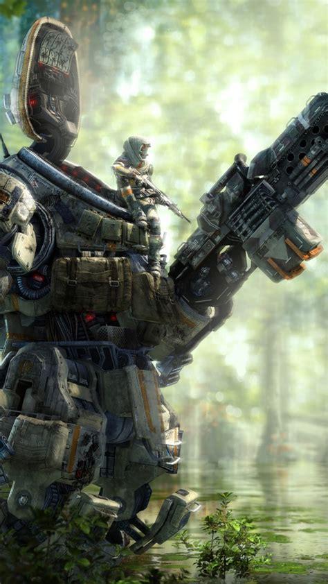 wallpaper titanfall    shooter  games