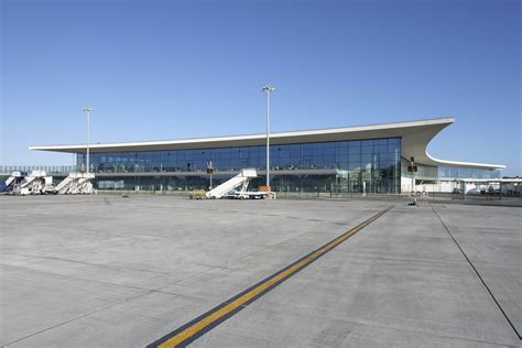 layout of airport terminal building gibraltar airport building e architect