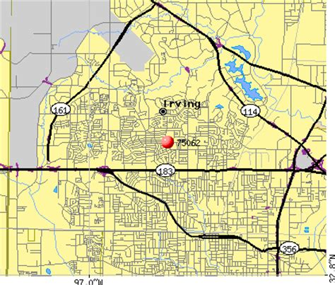 irving texas zip code map image gallery irving tx zip
