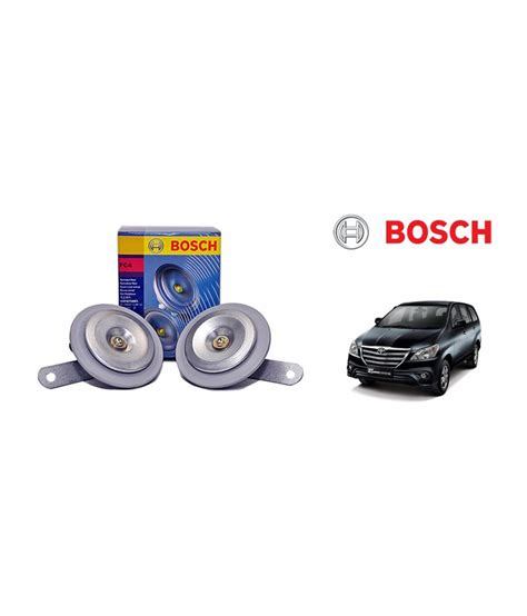 Car Horn Types by Bosch Car Fc4 Horn 191 Set Of 2 Toyota Innova Type 4