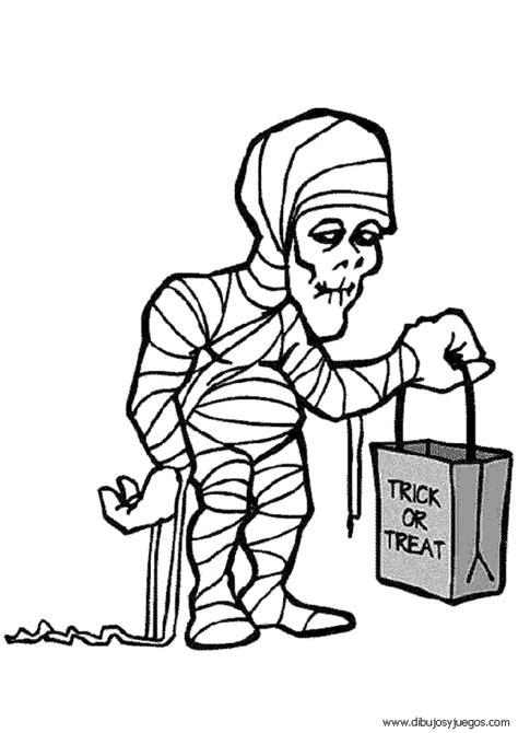 imagenes momias halloween dibujo de halloween momia 005 dibujos y juegos para