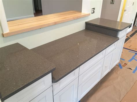 Silestone Countertop Edges by Quartz Silestone Grey Silestone With Silver Sparkles