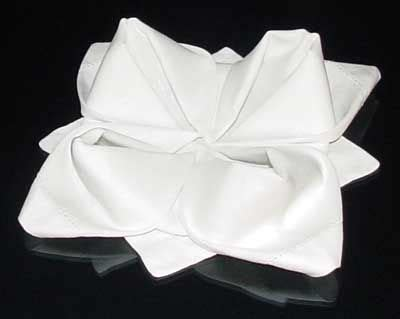 napkin origami flower finished napkin fold did this with a quot summer