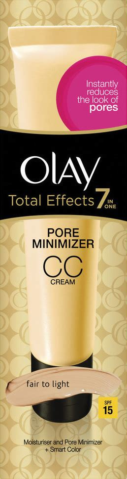 of olay cc fair to light olay total effects 7ιin 1 pore minimizer cc fair to