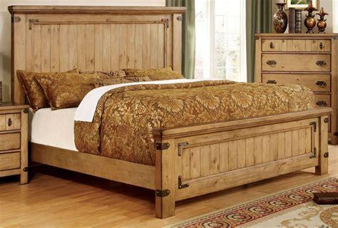 pine platform bed pioneer burnished pine king platform bed cm7449ek bed