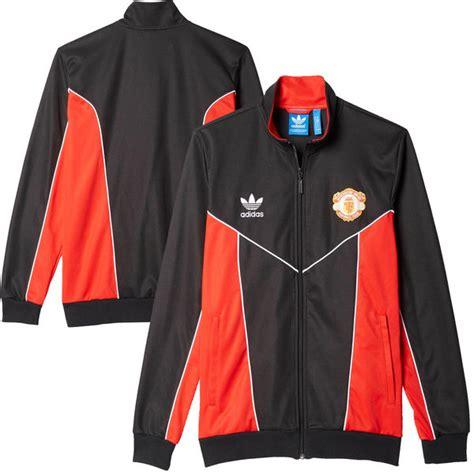 Sale Hoodie Zipper New Manchester United Sideline s adidas black manchester united originals 1984 zip track jacket united direct