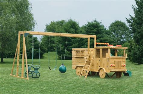 The Wooden Playground Collection Home Design Garden Playground House Plans