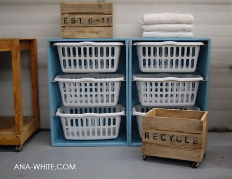 White Laundry Basket Dresser by White Laundry Basket Dresser Diy Projects