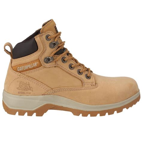 safety boots for caterpillar cat kitson s1 womens safety boots honey