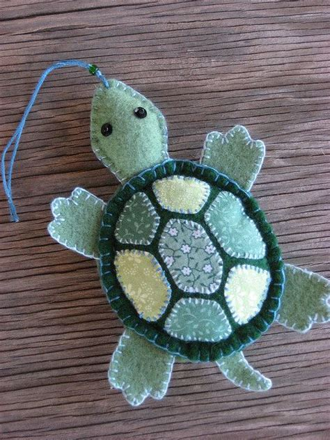 Handmade Turtle - 1007 best felt animals and dolls images on