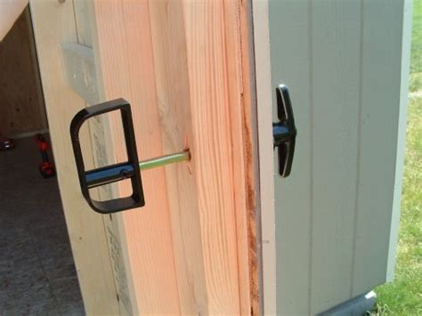 Shed Door Lock by Images