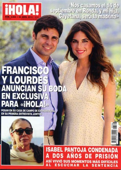 imagenes de hoy revista hola francisco rivera anuncia que se casar 225 en ronda con