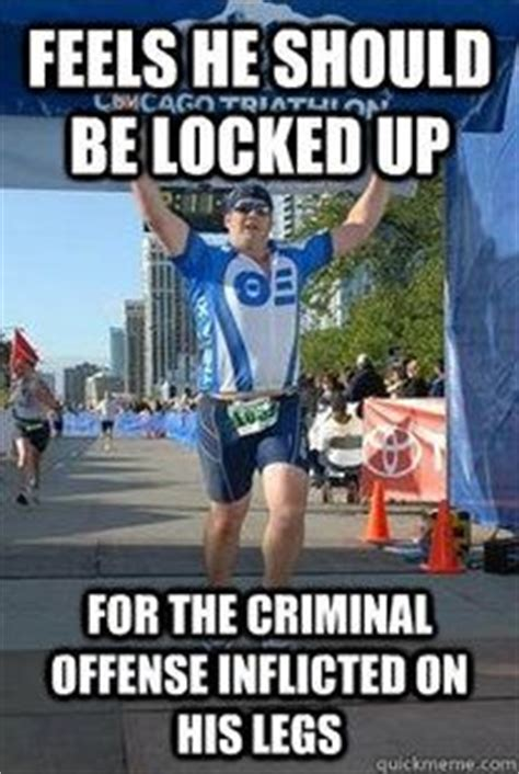 Triathlon Meme - 20 types of athletes you ll see at a triathlon ironman an