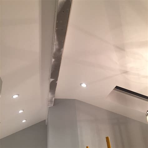 How To Cover Beams On Ceiling by Vaulted Ceiling Faux Wood Workshop