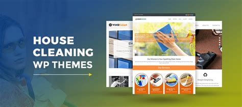 themes of the clean house 5 house cleaning wordpress themes free and paid formget