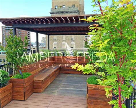 new york city garden designs chelsea rooftop garden