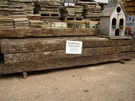 Reclaimed Sleepers by Sleepers Best Demolition Limited