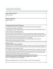 theme theories great gatsby worksheet 04 04 writing about theme english honors 04 04 writing