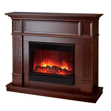 real camden 45 in convertible electric fireplace in