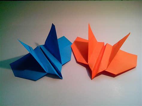 Origami Avion - como hacer un avi 243 n boomerang de papel que vuelve