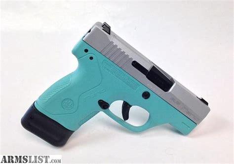 colored handguns armslist for sale blue beretta nano 9mm handgun