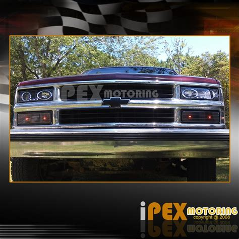1997 chevy silverado tail lights 94 98 chevy c k1500 suburban 10pc projector led