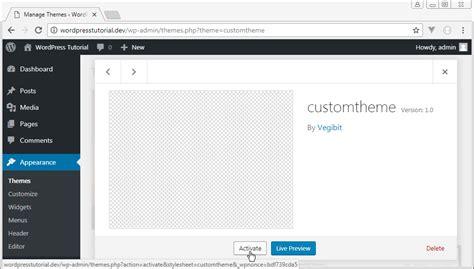 wordpress tutorial step by step wordpress theme development tutorial step by step web
