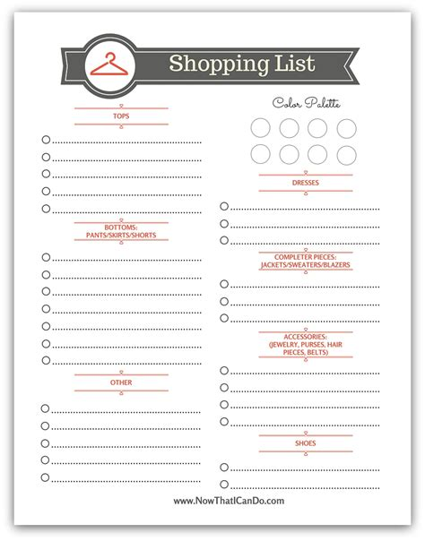 printable home shopping list basic fall capsule wardrobe 72 outfits for the stay at
