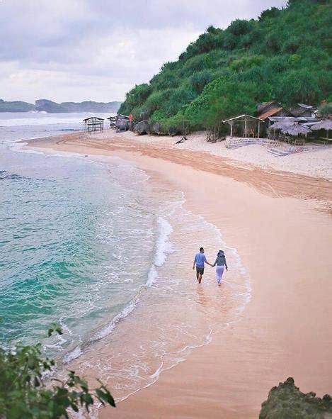 lokasi jalan menuju sunset pantai ngandong gunung kidul