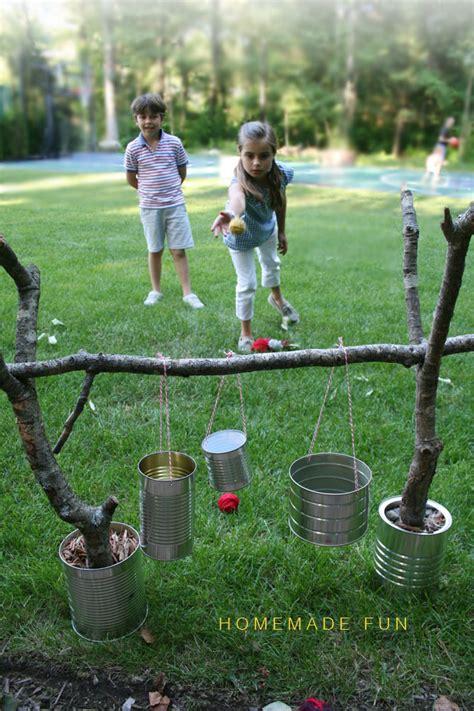 Backyard Family Reunion Tin Can Toss Ayurveda