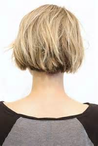back views of choppy layered bob haircuts back view of short bob haircuts bob hairstyles 2017