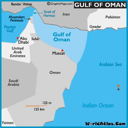 middle east map arabian sea map of gulf of oman gulf of oman location facts major