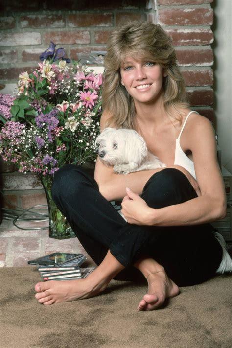 heather carolins feet wikifeet heather locklear with her maltese puppy maltese