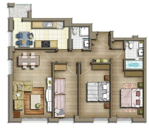 2 d as built floor plans sub zero animation vfx private residential house 2d