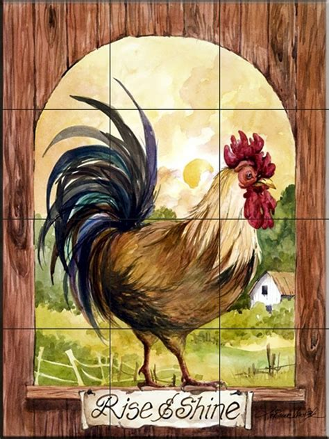 country rooster 17 best images about mosaic chickens roosters on