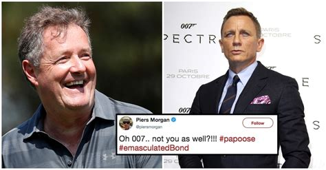 piers morgan daniel craig piers morgan insults daniel craig for wearing newborn in a