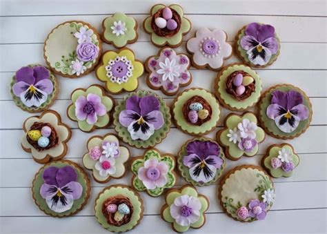 1380 best flower cookies images on Pinterest   Cookies, Decorated cookies and Decorated sugar