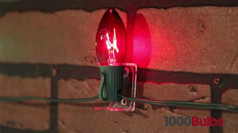 how to hang christmas lights on brick wall c7 or c9 combo for lights clear