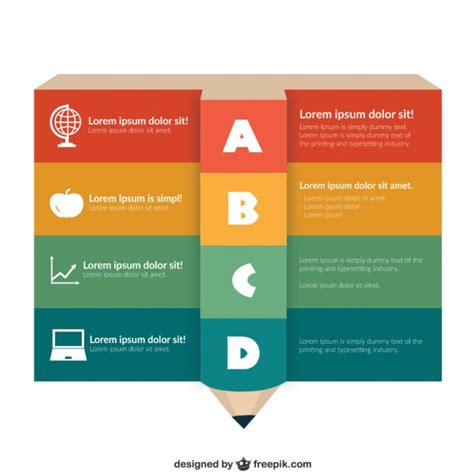 education infographic template free vector 123freevectors