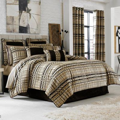 luxembourg comforter set j queen new york structure full comforter set in taupe
