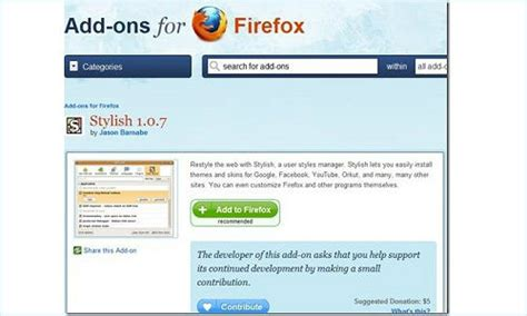 facebook themes stylish mozilla firefox download facebook theme how to social network applications