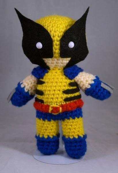 amigurumi wolverine pattern 18 best images about crocheting on pinterest amigurumi