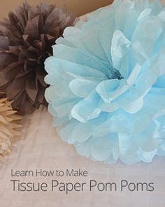 How To Make Paper Pom Pom Decorations - 1000 images about diy wedding decor on church