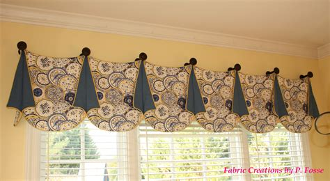 Pate Valances pate meadow s louise valance sewn by fabric creations