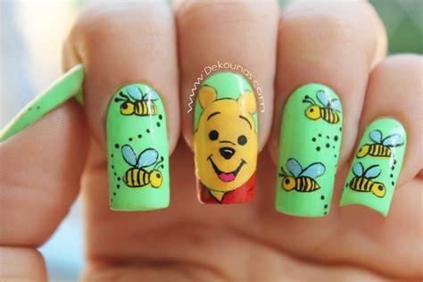 decoraci 243 n de u 241 as winnie the pooh winnie the pooh nails
