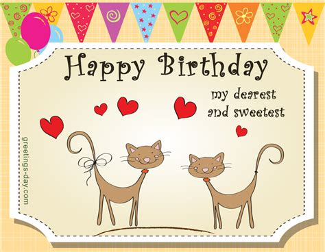 Happy Birthday Wishes To Sweet Greeting Cards For Every Day November 2015